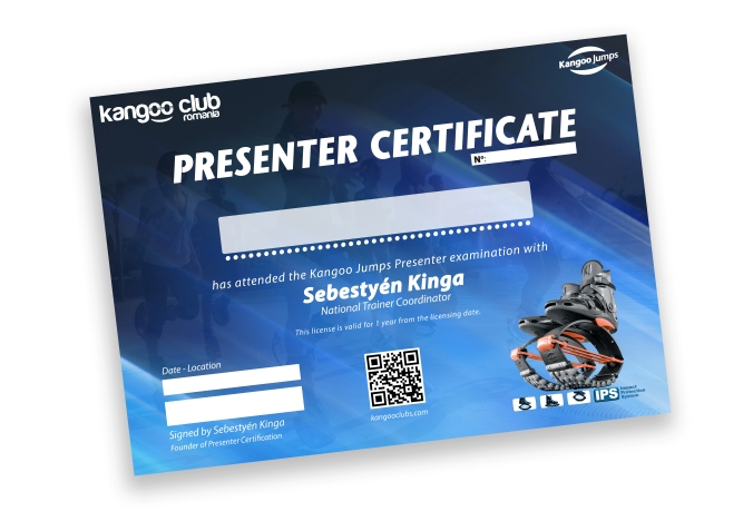 certificate presenter temp