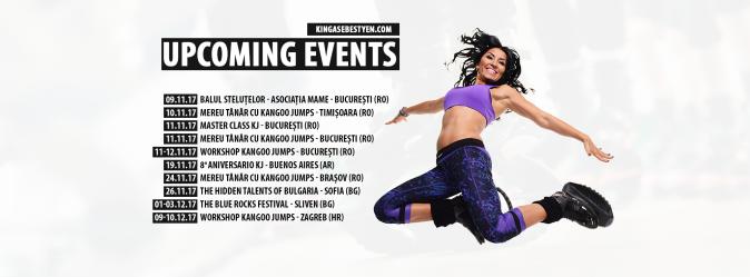 Upcoming events Kinga nov